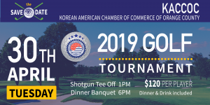 2019 KACCOC GOLF TOURNAMENT