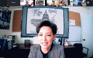 roundtable zoom meeting with congresswoman young kim